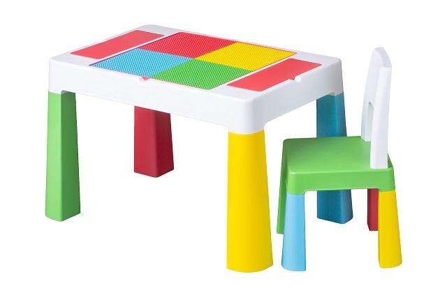 Set masuta cu scaunel Tega Baby Multifun Multicolor