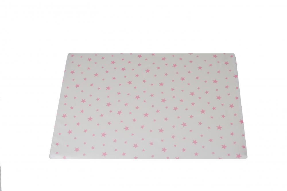 Perna plan inclinat multifunctionala Pink Stars White