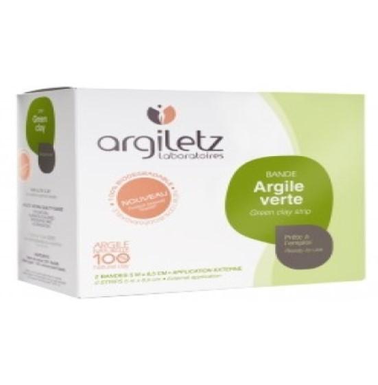 Plasturi Textilit Strips bandaj cu argila verde Argiletz
