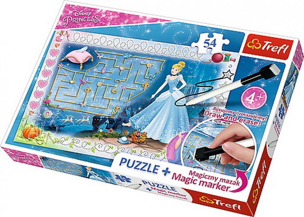 Puzzle Trefl 54 cu marker Cenusareasa