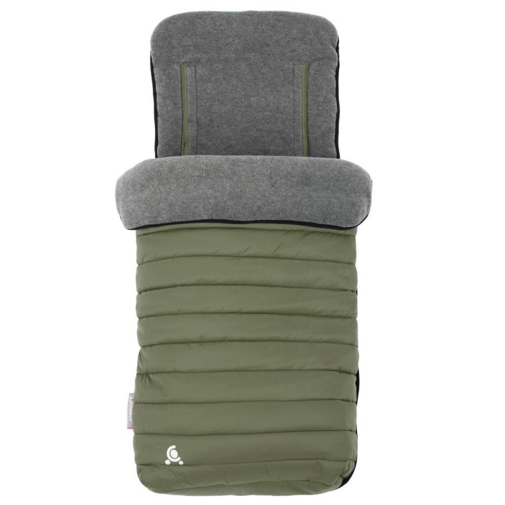 CuddleCo Sac de iarna Comfi-Snug Footmuff 2in1 Khaki 845125