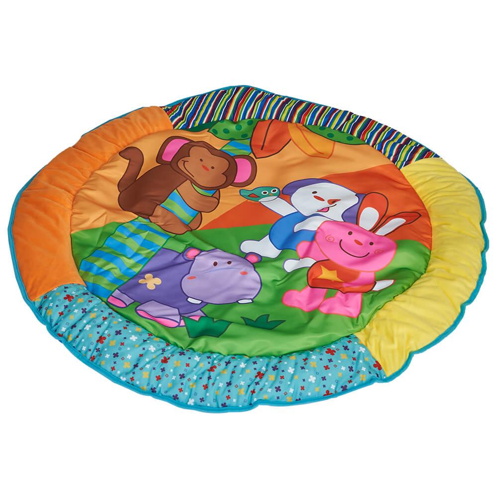 Salteluta De Joaca Rotunda Animalutele Vesele Kidscare