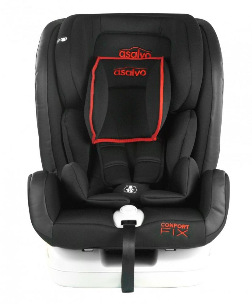 Scaun auto cu isofix 9-36 kg Asalvo Confort Fix rosu