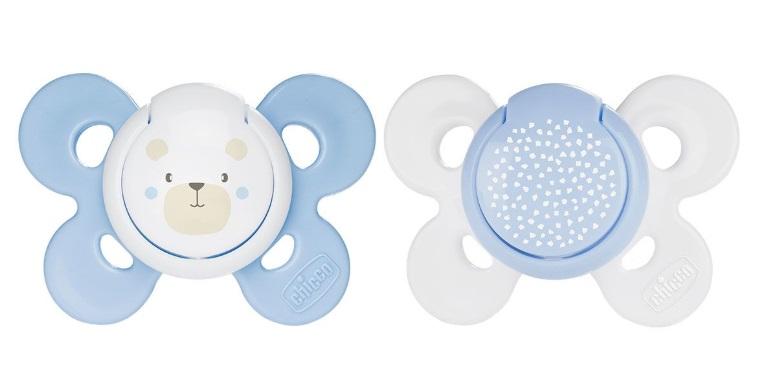 CHICCO Suzeta Chicco silicon Physio Comfort 0-6 luni baieti