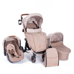 Carucior 3 in 1 Madrid Beige Melange