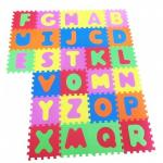 Covor puzzle din spuma Alfabetul 26 piese
