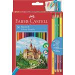Creioane Colorate 36+4 Culori si Ascutitoare Faber-Castell 0