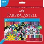 Creioane Colorate 60 Culori Editie Speciala Faber-Castell 0