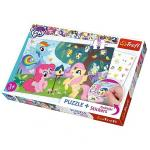 Puzzle  Trefl 35 cu abtipilde my little pony