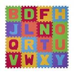 Puzzle Litere - covoras din spuma 16 buc