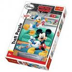 Puzzle Trefl 100 Mickey si Donald