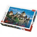 Puzzle Trefl 1500 Castelul Oberhofen Elvetia