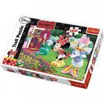 Puzzle Trefl 160 Minnie uda florile