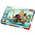 Puzzle Trefl 160 Printesa Moana in valuri