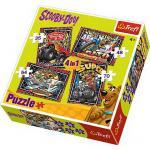 Puzzle Trefl 4in1 Aventurile Lui Scooby Doo