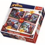 Puzzle Trefl 4in1 in spiderman