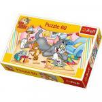 Puzzle Trefl 60 Artistii Tom si Jerry