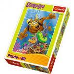 Puzzle Trefl 60 Sscufundari cu Scooby Doo