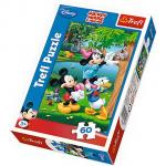 Puzzle Trefl 60 la masa cu Donald