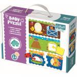 Puzzle Trefl baby clasic sorteaza formele