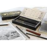 Set 12 Creioane Aniversare Lothar von Faber Polygrades Faber-Castell 0