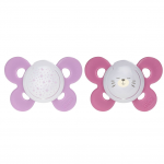 Suzeta Chicco silicon Physio Comfort 16-36luni fete