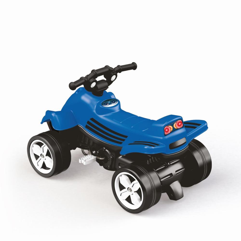 ATV cu pedale albastru
