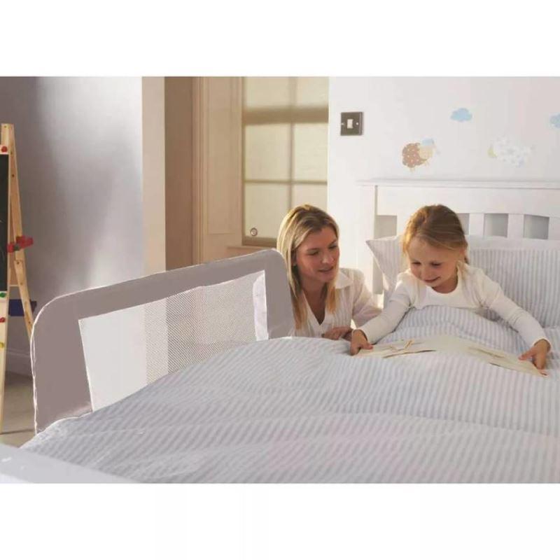 Bariera de protectie pat rabatabila pentru copii Noma 100 cm