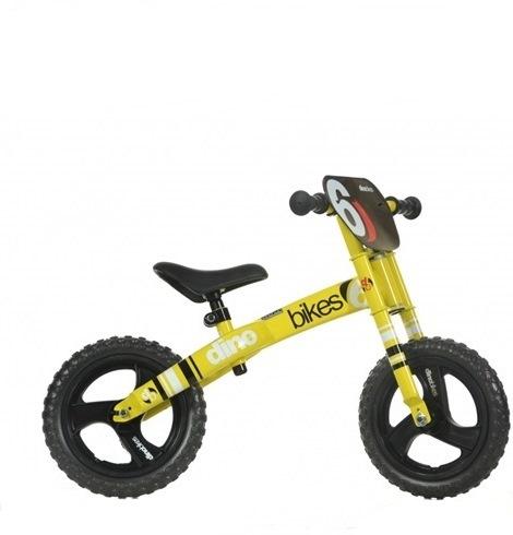 Bicicleta incepatori Dino Bikes galben