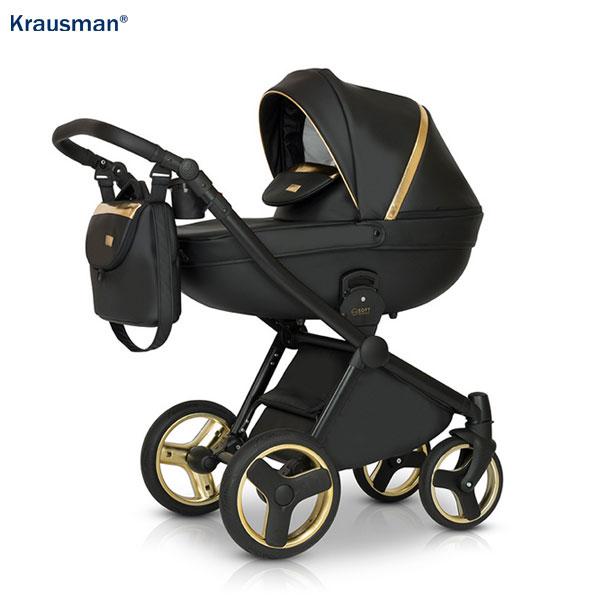 KRAUSMAN Carucior 3 in 1 Prime Mirage Gold