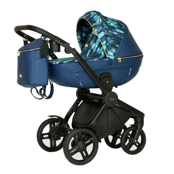 KRAUSMAN Carucior 3 in 1 Topaz Lux Dark Blue Limited