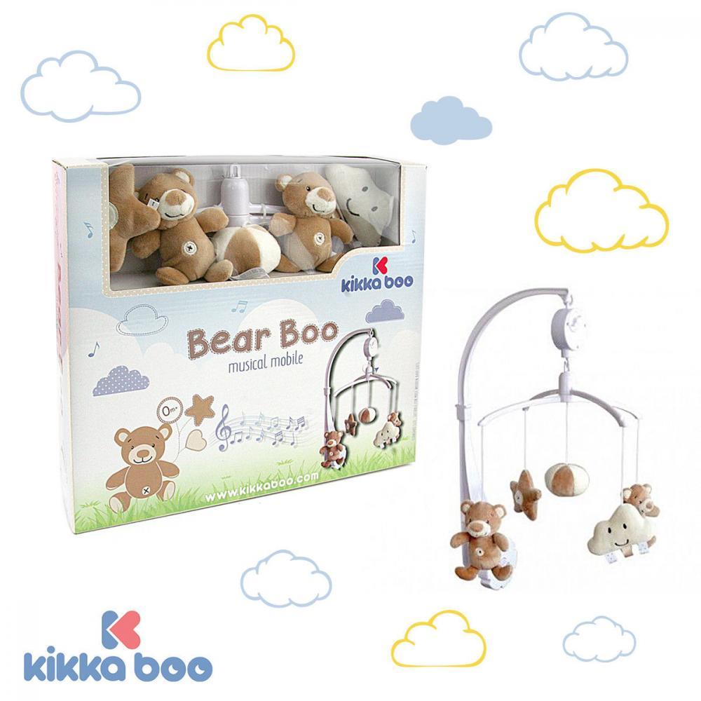 Carusel muzical Kikkaboo Bear