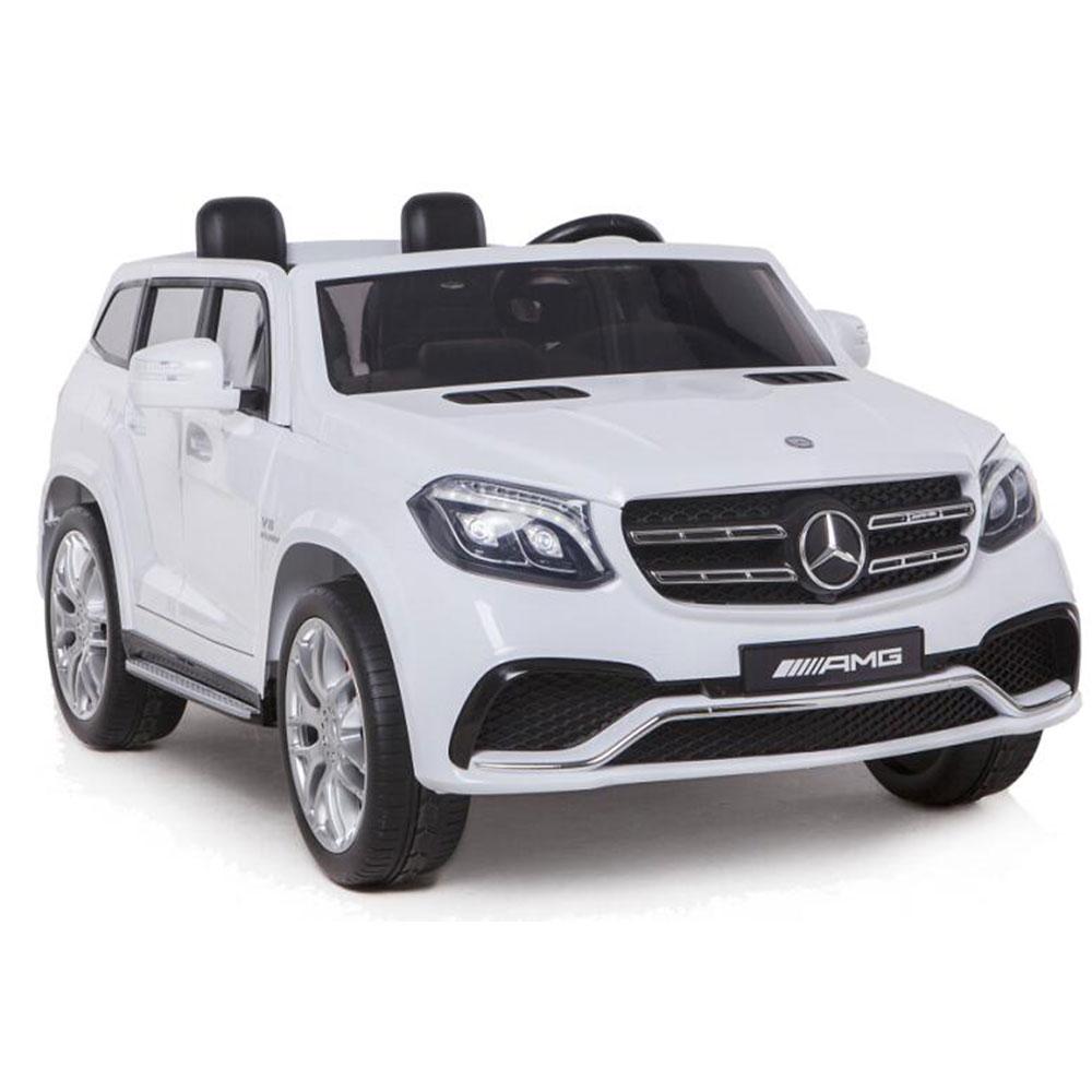 Masinuta electrica cu doua locuri Mercedes GLS63 AMG White imagine