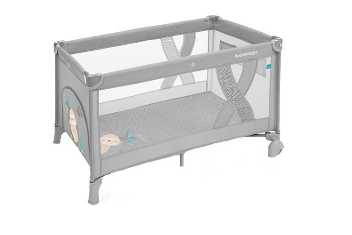 Patut pliabil Baby Design Simple 07 Light Grey 2019