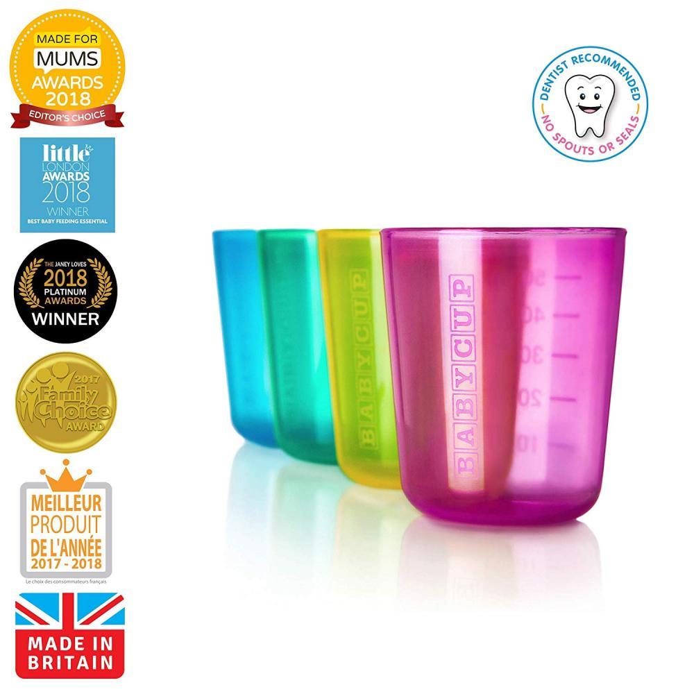Primul meu pahar pentru bebelusi si copii Babycup Multicolor 6+