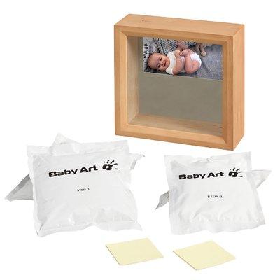 Rama foto cu sculptura Honey Baby Art