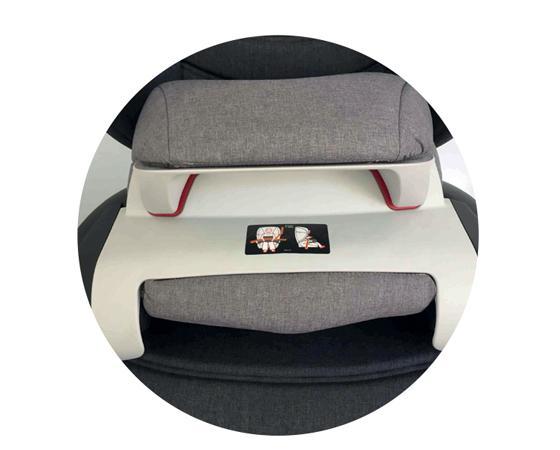 Scaun auto cu isofix 9-36 kg Ferris Dark Grey