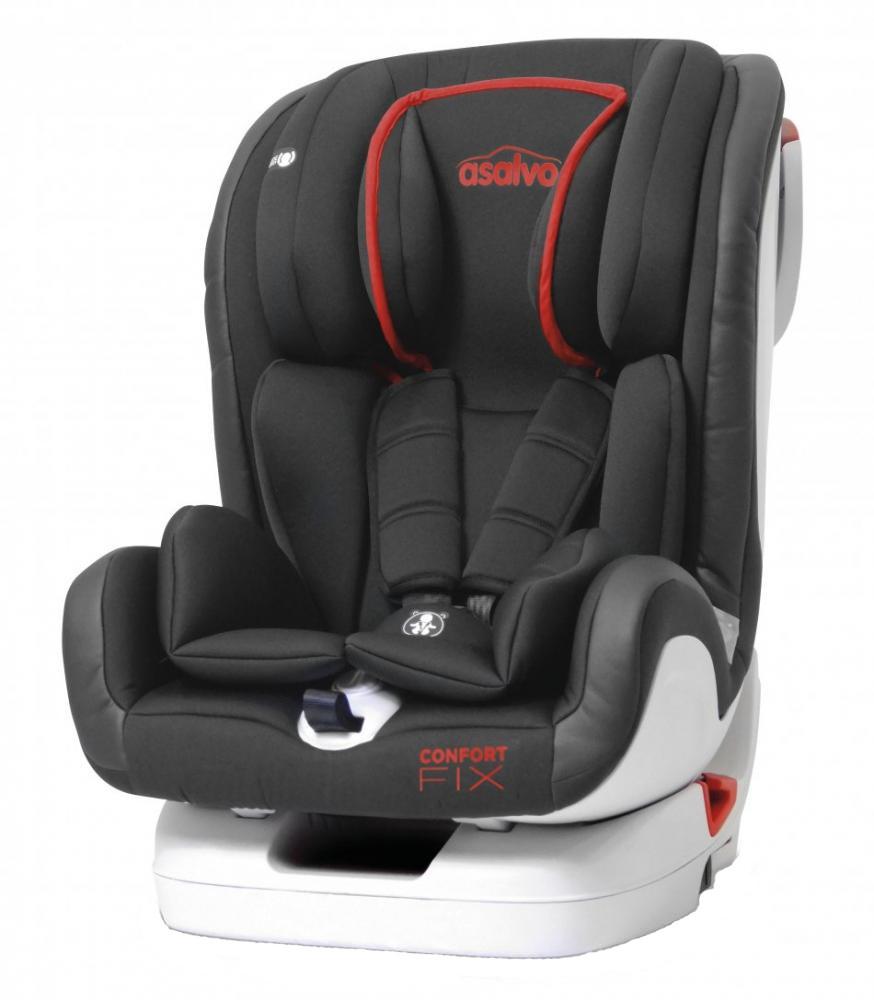 Asalvo Scaun auto cu isofix 9-36 kg Asalvo Confort Fix rosu