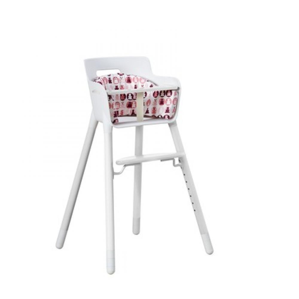 Scaun pentru masa alb cu picioare albe Flexa