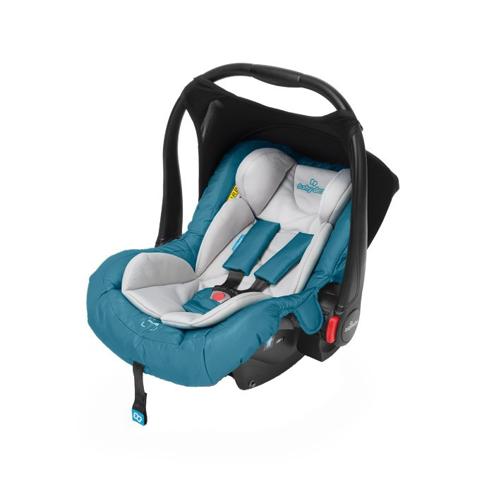 Scoica auto 0-13 kg Baby Design Leo 05 Turquoise 2018 imagine