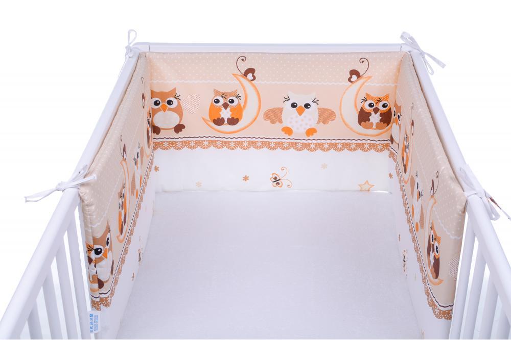 Set 2 aparatoare laterale patut Owls Beige 028