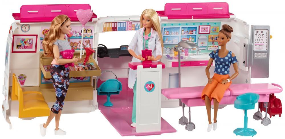 Set clinica mobila Barbie