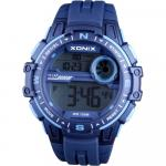 Ceas de mana copii sport chronograph blue Xonix 48 mm