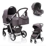 Carucior Lion System 3 in 1 Grey Melange Fillikid