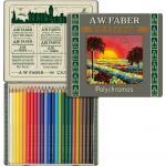 Creioane Colorate 24 Culori 111 Ani Polychromos Faber Castell  0