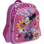 Ghiozdan Minnie Mouse pentru gradinita Flori