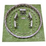 Kit de constructie Stonehenge