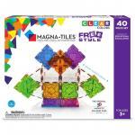 Magneti mobili Freestyle Magna Tiles 40 piese