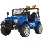Masinuta electrica 12V cu roti din cauciuc Drifter Jeep 4x4 Blue