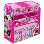 Organizator jucarii cu cadru din lemn Minnie Mouse Cool